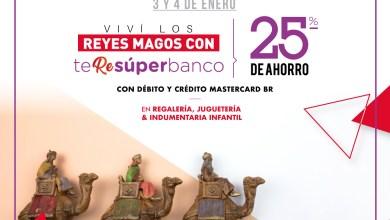 Photo of Llega»Te RE súper banco» edición especial Reyes Magos