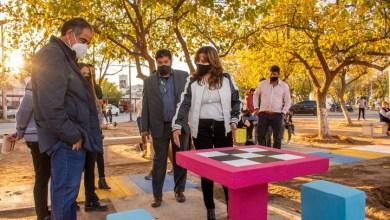 Photo of Los vecinos del B° Evita disfrutan de una Plaza Belgrano, totalmente renovada