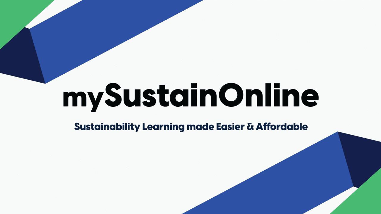 marketing for sustainability learning platform