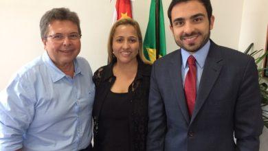 Foto de Carlão Pignatari e Fabiana reivindica R$ 600 mil para Riolândia