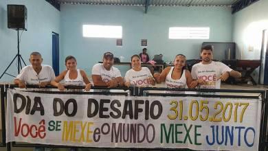 Foto de RIOLÂNDIA PARTICIPA DO DIA DO DESAFIO: INCENTIVO A PRÁTICA REGULAR DE ESPORTES E ATIVIDADES FÍSICAS.