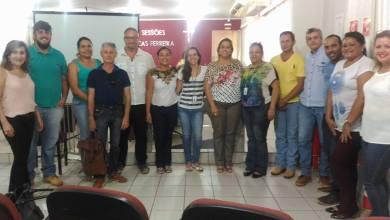 Foto de Visita das representantes do Programa Município Verde Azul