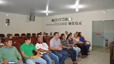 Foto de A cerimônia de posse dos membros do CONDEMA