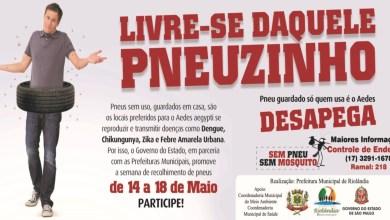 Foto de Campanha Coleta de Pneus em Riolandia