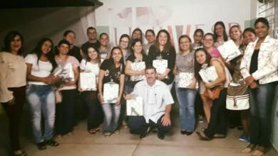 Foto de aula inaugural do curso de Pedagogia oferecido pela UNIVESP
