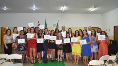 Foto de Formatura dos Alunos em Riolandia.