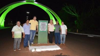 Foto de A Prefeitura inaugurou a nova iluminação na entrada da cidade.