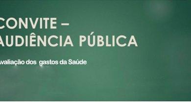Foto de CONVITE – Audiência Pública