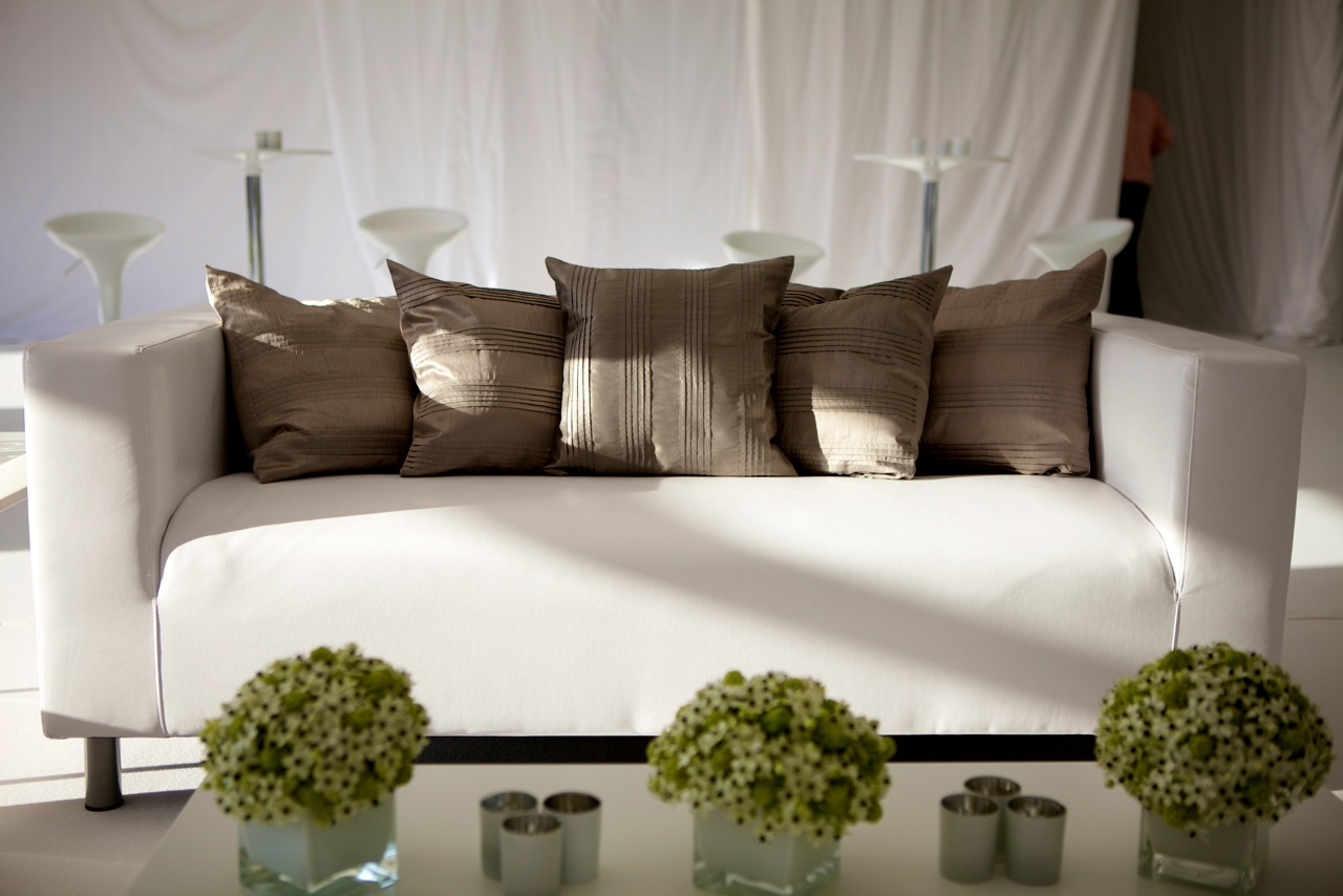 Lounge Couch White Lounge Sofa Hire | Rio Lounge