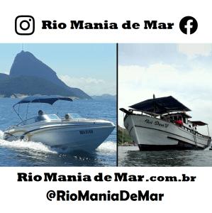 Rio Mania de Mar * Sua Festa no barco