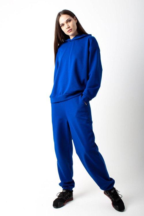 костюм спортивный женский синий