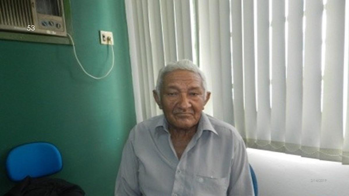 Homicida de 76 anos quebra a condicional e volta para a penitenciária em Esperantina