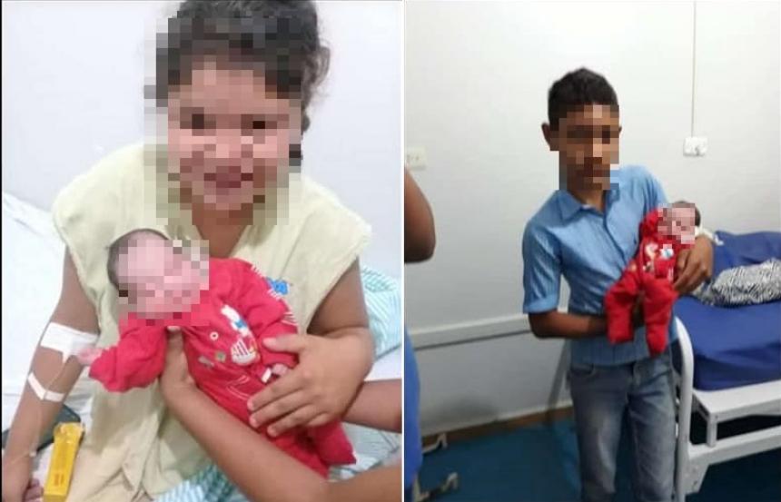 Menina de 12 anos dá à luz e diz que não sabia que estava grávida