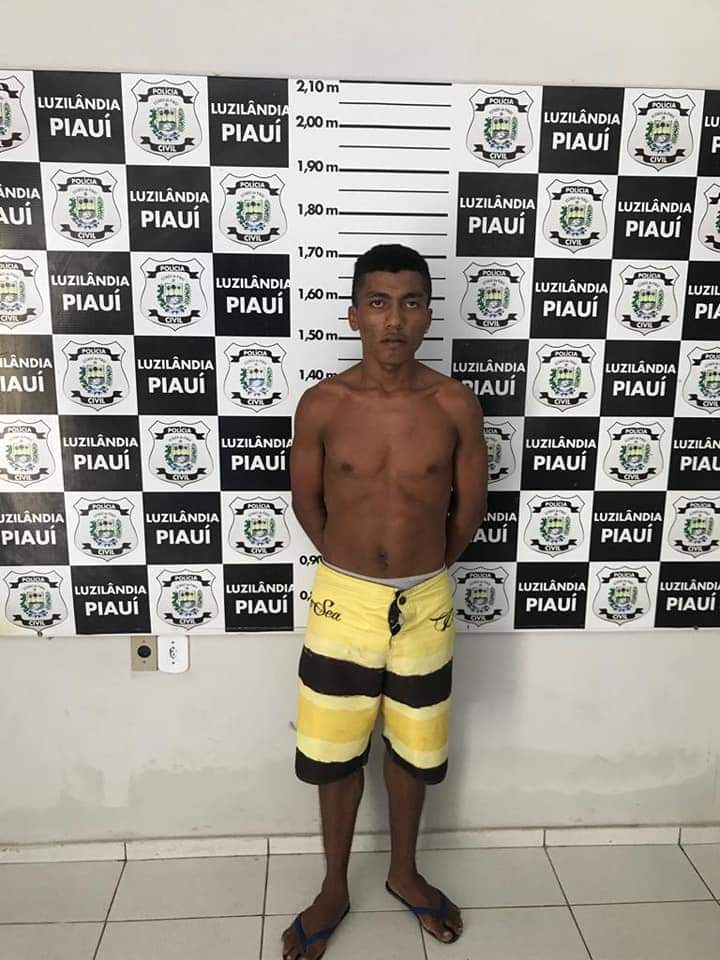 Em Luzilândia jovem é preso acusado de roubo de celular