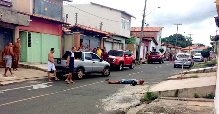 Após realizar vários roubos, assaltante é baleado na Zona Leste de Teresina