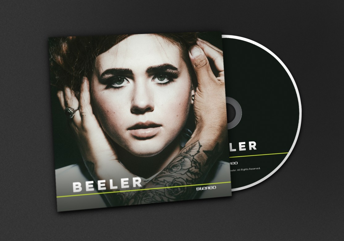 Beeler - Self Titled EP CD Jacket Front