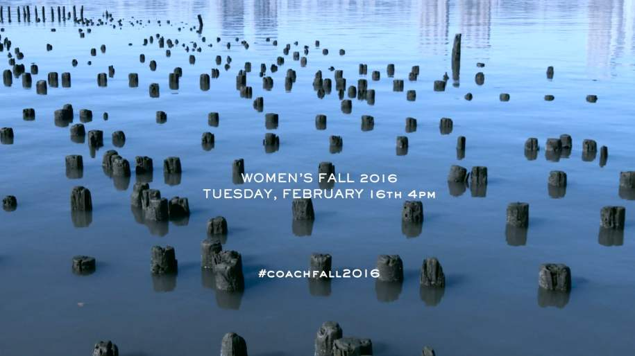 Coach | New York Fashion Week - Women's Fall 2016 Runway Show Live Stream: Trailer