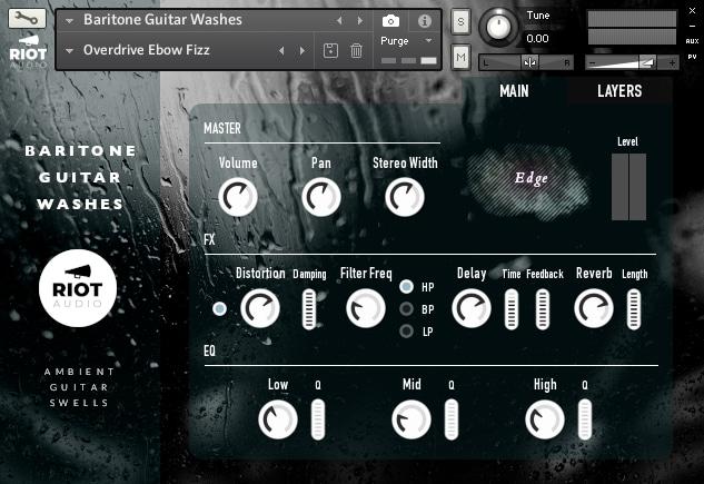 Baritone Guitar Washes - Main Page