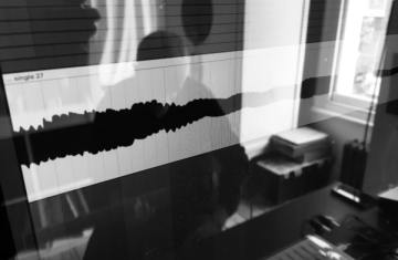 Baritone Guitar Washes Studio Session - Waveform