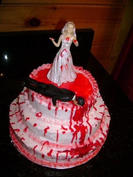 15 Gruesome Amp Bloody Divorce Cakes Riot Daily