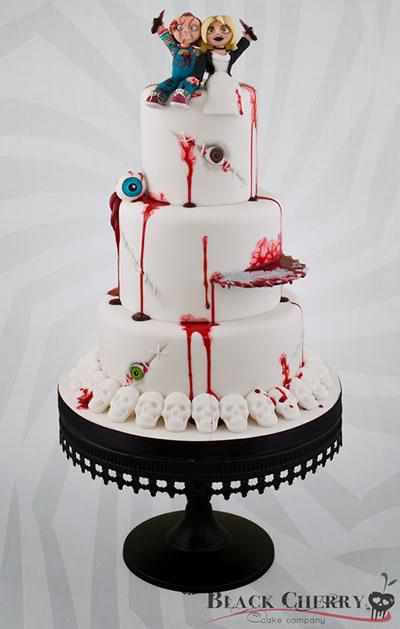 Bride of Chucky Wedding Cake  Riot Daily