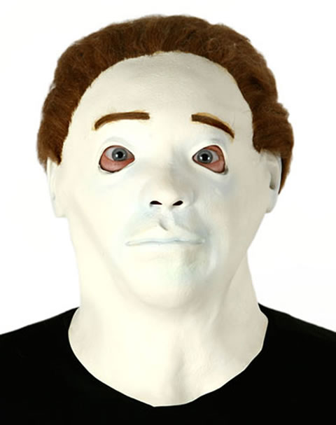 Image result for crappy michael myers mask