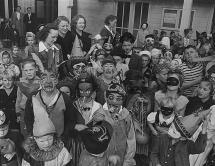 Creepy Kids Wearing Halloween Costumes Riot Fest