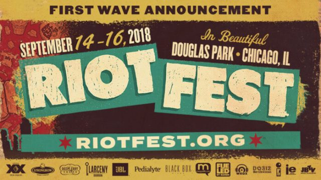 Image result for riot fest 2018