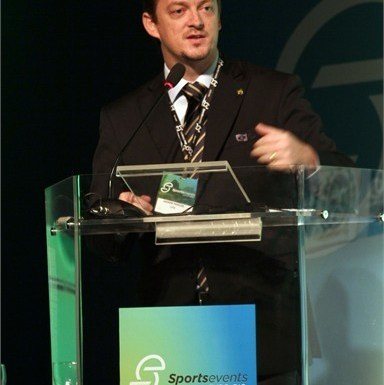 Andrew Parsons, the President of the Brazilian Paralympic Committee