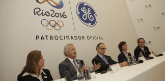 The 2016 Olympic Games attracts major multinational sponsors like GE announced in August, Rio de Janeiro, Brazil, News