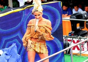 Claudia Leitte, one of Brazil's most popular musical talents performs axé, Brazil News