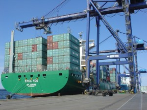 Ports in Brazil are expecting to handle a billion tons of cargo for the first time in 2012, photo by ANTAQ.