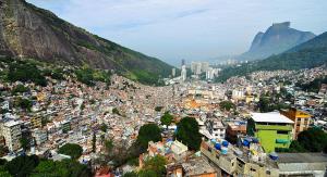 Rocinha, Rio's largest favela has seen an increase of violence, Rio de Janeiro, Brazil