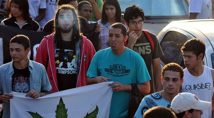 The Marijuana March which took place in Brasilia in 2011, Rio de Janeiro, Brazil, News.