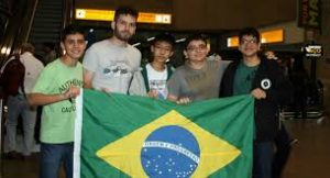 The Brazilian team in this year's Mathematic Olympics, photo by Olimpiada Brasileira de Matematica