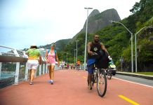 Rio's new Ciclovia Tim Maia, bike path, Rio de Janeiro, Brazil, Brazil News