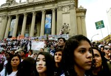 Professors and students join the protests in Rio de Janeiro, Brazil, Brazil News