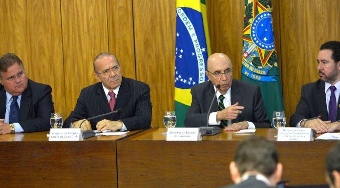 Brazil, Meirelles,Brazilian government's new economic team announces new economic measures