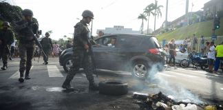 Brazil,Tension continues high with federal forces trying to insure security,