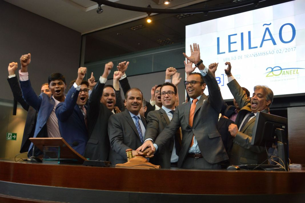 Brazil, São Paulo,Brazil's Aneel auctions off energy transmission lines at the stock market,