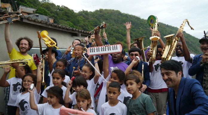 The long-term aim of the program is to create a tradition of brass and percussion in the favela community of Pereira da Silva, combining Rio's rich musical heritage with the jazz and second-line tradition of New Orleans, Rio de Janeiro, Brazil, Brazil News,