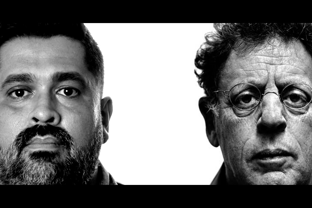 James Strauss and Philip Glass.