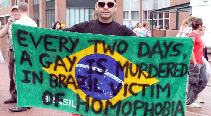 The event's sponsors who have pulled out have taken issue with Bolsonaro's comments critical of gay people.