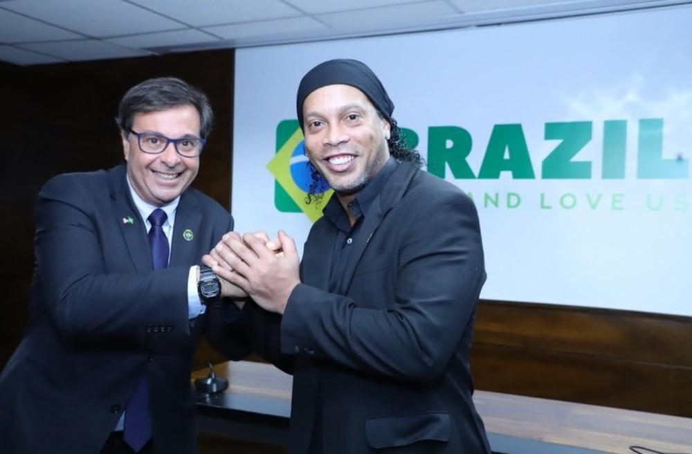 Image result for ronaldinho appointed tourism ambassador