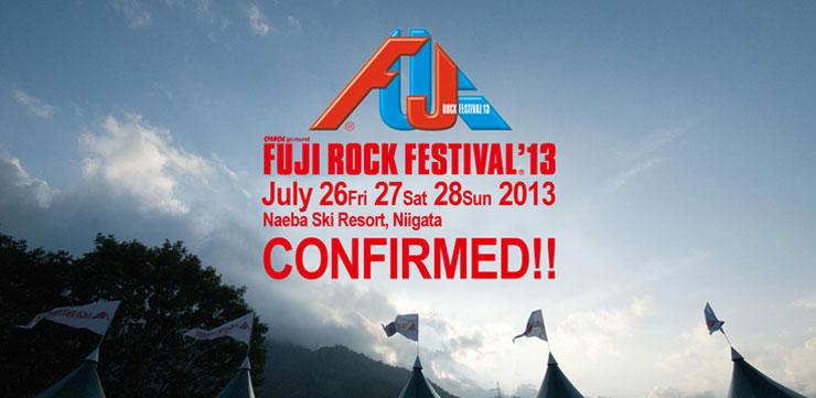 Fuji Rock Festival 2013
