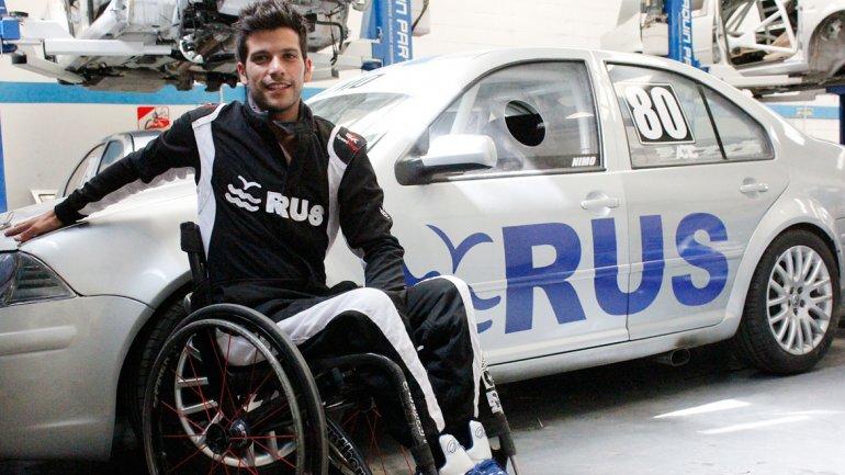 Hoy en RUS Charla del Piloto Adaptado Juan Mara Gatito