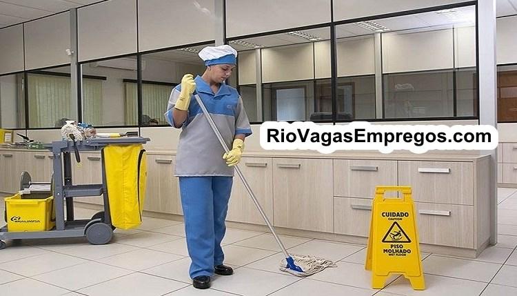 AUXILIAR DE SERVIÇOS DE ANDARES,AUXILIAR DE LIMPEZA, OPERADOR TELEMARKETING, ASSISTENTE DE SAC -R$ 1.250,00 - ESCALA 6x1 - COM E SEM EXPERIENCIA - RIO DE JANEIRO