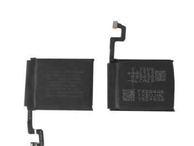 sostituzione batteria apple watch 4