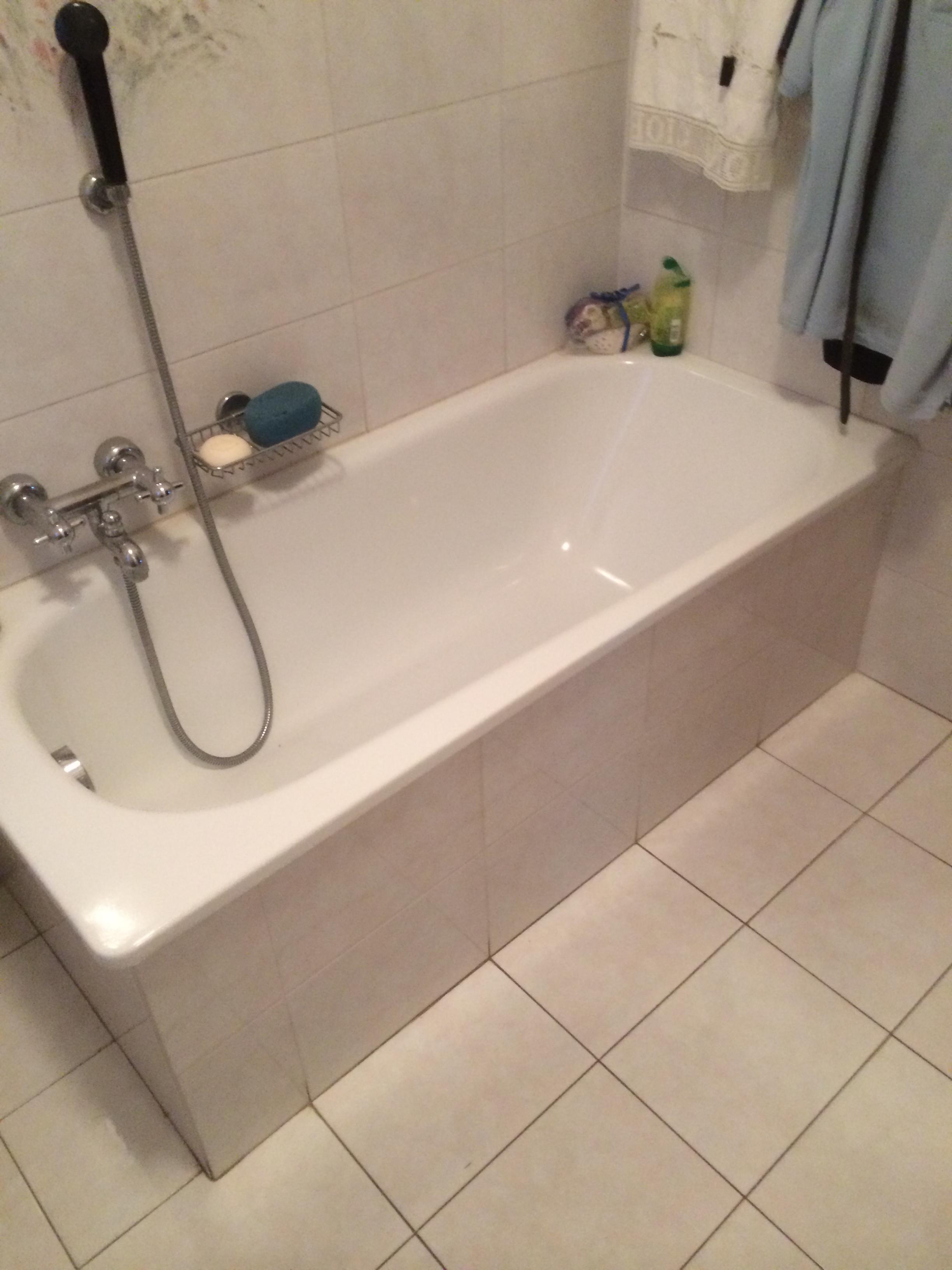 Vasca Da Bagno Filo Pavimento : Una vasca da bagno in francese trasformare una doccia in vasca