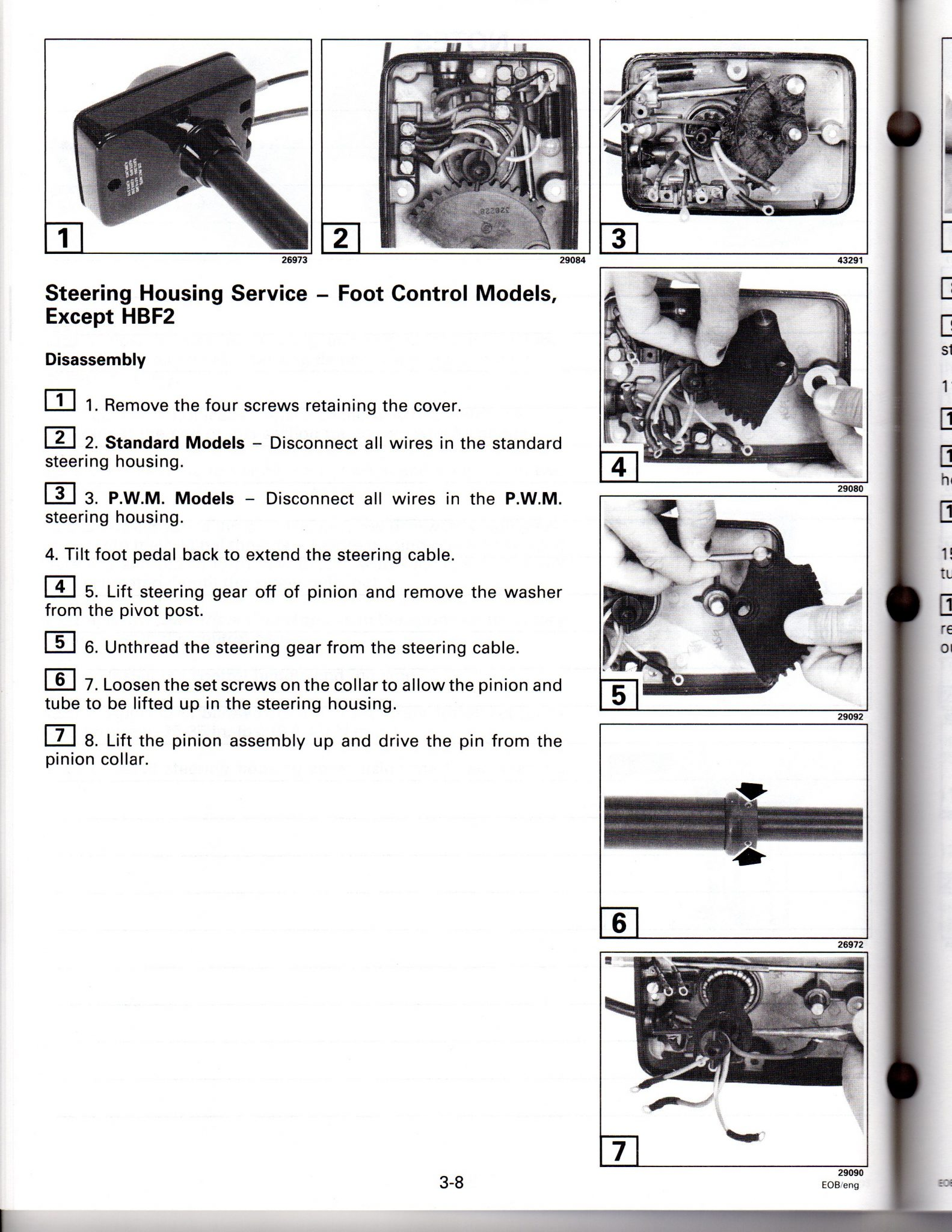Used 1998 Johnson / Evinrude Service Manual for Electric